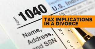 Divorce and Taxes – the main considerations